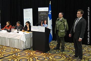 Un ministre en Gaspésie
