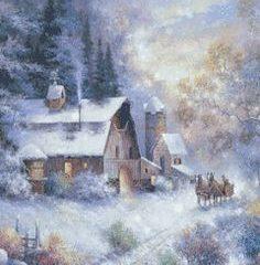 Le Noël d'un vieux couple